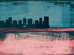 Orlando Abstract Skyline II by Emma Moore