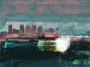Phoenix Abstract Skyline I by Emma Moore