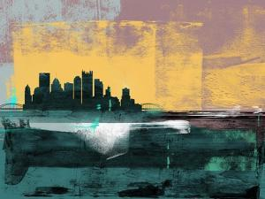 Pittsburgh Abstract Skyline I by Emma Moore