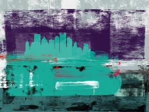 Pittsburgh Abstract Skyline II by Emma Moore