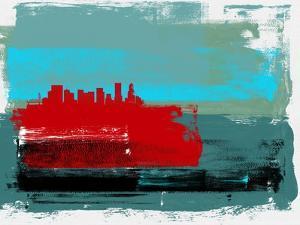 Portland Abstract Skyline I by Emma Moore