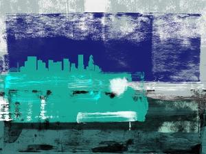 Portland Abstract Skyline II by Emma Moore