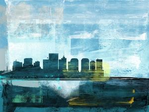 Richmond Abstract Skyline II by Emma Moore