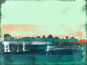 Rome Abstract Skyline I by Emma Moore