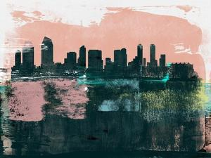 San Diego Abstract Skyline I by Emma Moore