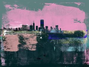 San Francisco Abstract Skyline I by Emma Moore