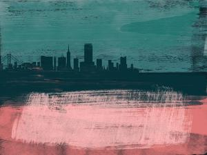San Francisco Abstract Skyline II by Emma Moore