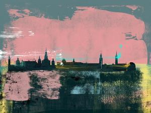 Stockholm Abstract Skyline II by Emma Moore