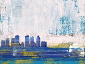 Tampa Abstract Skyline I by Emma Moore
