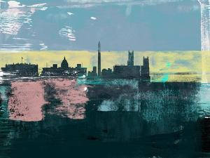 Washington D.C. Abstract Skyline I by Emma Moore