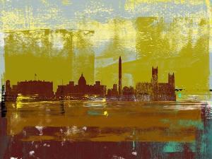Washington D.C. Abstract Skyline II by Emma Moore
