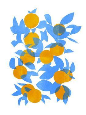Bright Tangerines I by Emma Scarvey