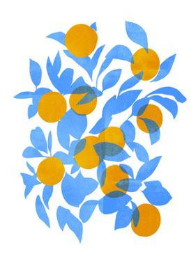 Bright Tangerines II by Emma Scarvey