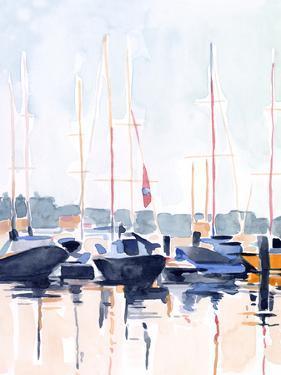 Watercolor Boat Club II by Emma Scarvey
