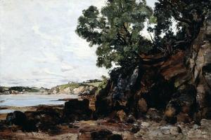 Douarnenez, 1884 by Emmanuel Lansyer
