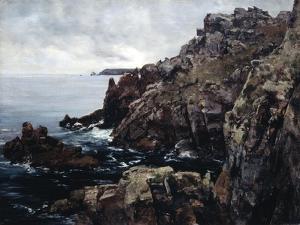 Headland of Raz, 1884 by Emmanuel Lansyer