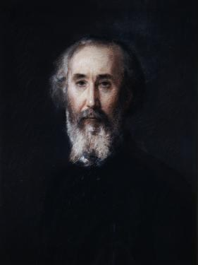 Self Portrait of the Artist Emmanuel Lansyer, 19th Century by Emmanuel Lansyer