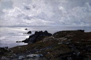 Strong Current Point, 1884 by Emmanuel Lansyer