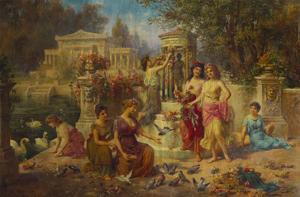 The Feast of Venus by Emmanuel Oberhauser