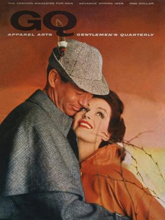 GQ Cover - January 1958