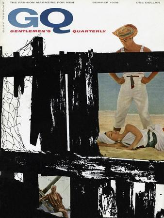 GQ Cover - July, 1958