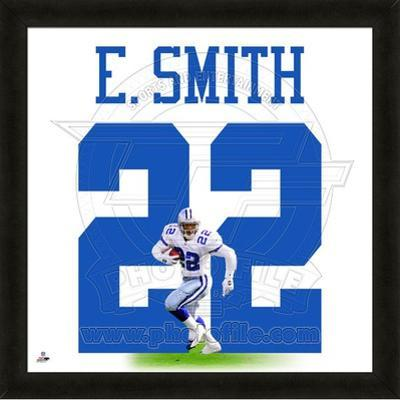 Emmitt Smith, Cowboys photographic representation of the player's jersey