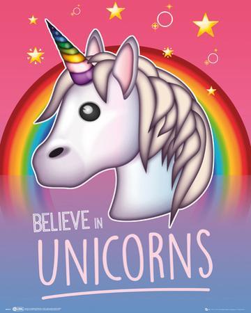 Emoji Believe In Unicorns