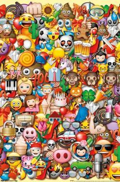 Emoji - Lots of Characters Collage