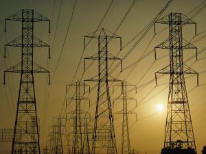 Power Lines Along Artesia Boulevard by Emory Kristof
