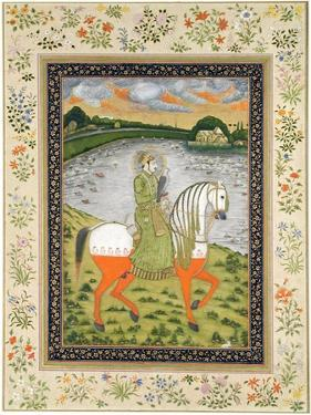 Emperor Ahmad Shah, Equestrian, in the Hunting Field