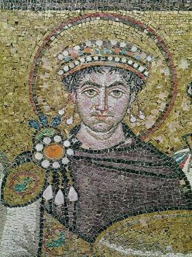 Emperor Justinian I (483-565) circa 547 AD