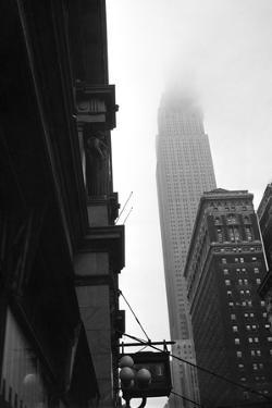Empire State Building Burning after Plane Crash