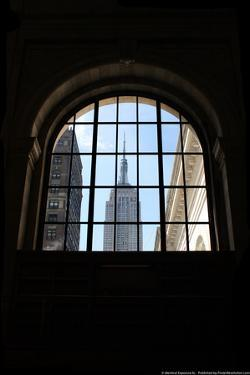 Empire State Building From Grand Central Station NYC