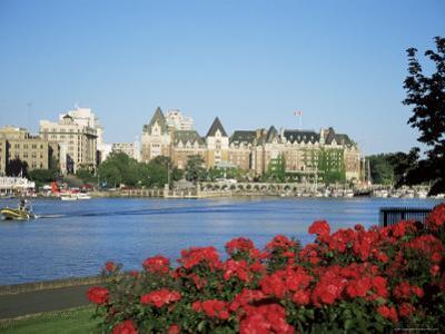 Empress Hotel and Innter Harbour, Victoria, Vancouver Island, British Columbia, Canada