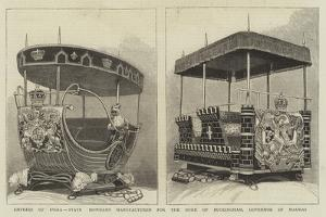 Empress of India, State Howdahs Manufactured for the Duke of Buckingham, Governor of Madras