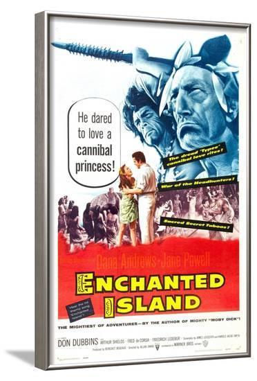 Enchanted Island--Framed Art Print
