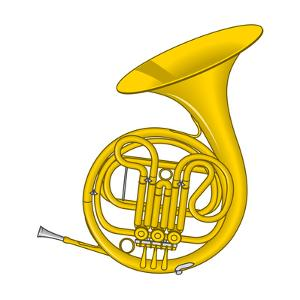 French Horn, Brass, Musical Instrument by Encyclopaedia Britannica