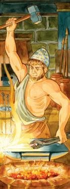 Hephaestus, (Greek), Vulcan (Roman), Mythology by Encyclopaedia Britannica