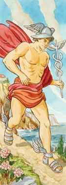 Hermes (Greek), Mercury (Roman), Mythology by Encyclopaedia Britannica