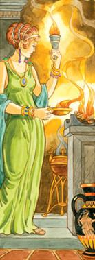 Hestia, Greek Mythology by Encyclopaedia Britannica