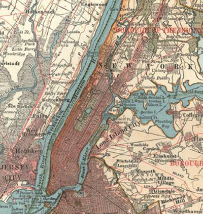Manhattan (C. 1900) by Encyclopaedia Britannica