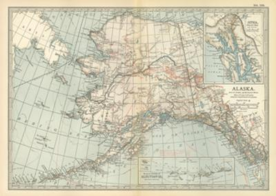 Affordable Maps Of Alaska Posters For Sale At Allposters Com