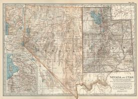 Affordable Maps of Nevada Posters for sale at AllPosters.com