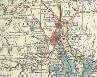 Map of Providence (C. 1900), Maps