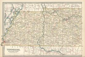 Affordable Maps of Tennessee Posters for sale at AllPosters.com