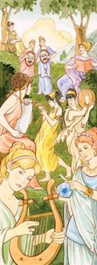 Muses, Greek and Roman Mythology by Encyclopaedia Britannica