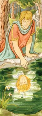 Narcisssus, Greek Mythology by Encyclopaedia Britannica