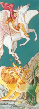 Pegasus, Greek Mythology by Encyclopaedia Britannica
