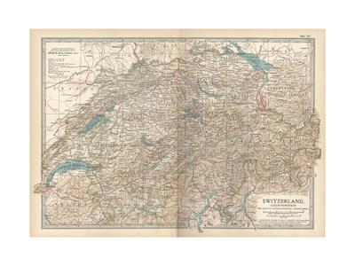 Plate 27. Map of Switzerland