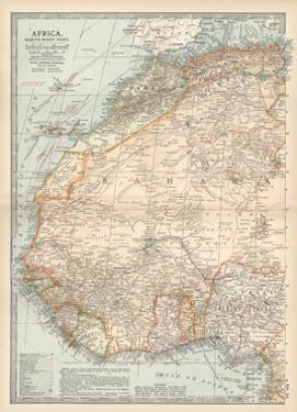 Plate 54. Map of Africa by Encyclopaedia Britannica